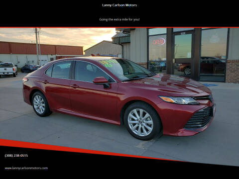 2019 Toyota Camry for sale at Lanny Carlson Motors in Kearney NE