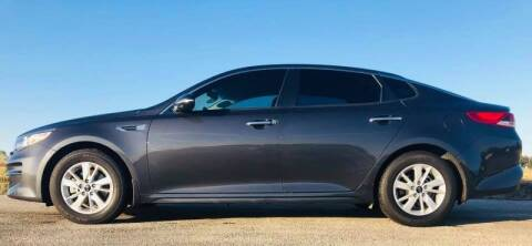 2018 Kia Optima for sale at Palmer Auto Sales in Rosenberg TX