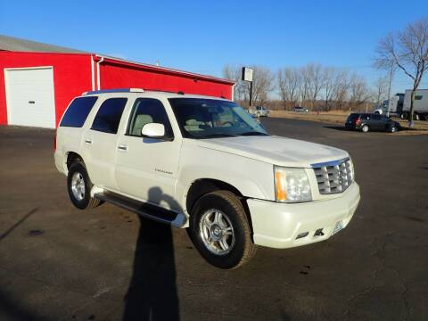 2004 Cadillac Escalade for sale at Marty's Auto Sales in Savage MN