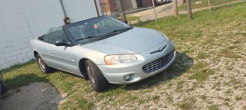 2002 Chrysler Sebring for sale at Double Take Auto Sales LLC in Dayton OH