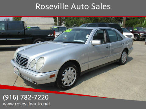 1999 Mercedes-Benz E-Class for sale at Roseville Auto Sales in Roseville CA