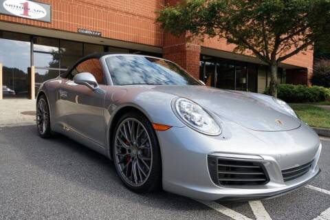 2017 Porsche 911 for sale at Team One Motorcars, LLC in Marietta GA