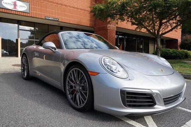 2017 Porsche 911 for sale at Team One Motorcars, LLC in Marietta GA