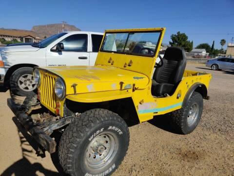 1948 Willys Jeep for sale at Poor Boyz Auto Sales in Kingman AZ