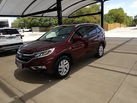 2016 Honda CR-V for sale at Jerry's Buick GMC in Weatherford TX