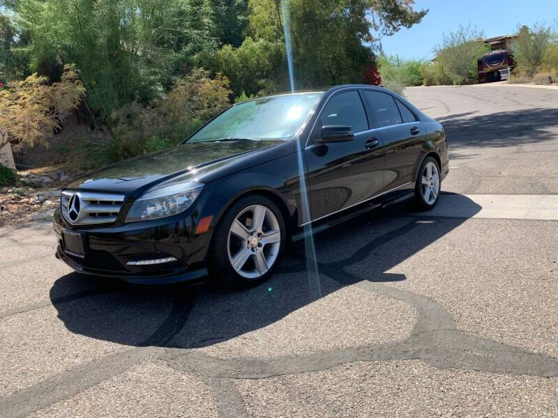 2011 Mercedes-Benz C-Class for sale at BUY RIGHT AUTO SALES in Phoenix AZ