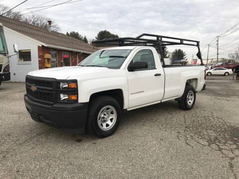 2015 Chevrolet Silverado 1500 for sale at J.W.P. Sales in Worcester MA
