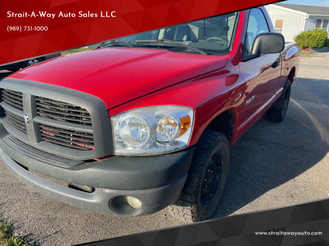 2008 Dodge Ram Pickup 1500 for sale at Strait-A-Way Auto Sales LLC in Gaylord MI