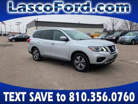 2018 Nissan Pathfinder for sale at LASCO FORD in Fenton MI