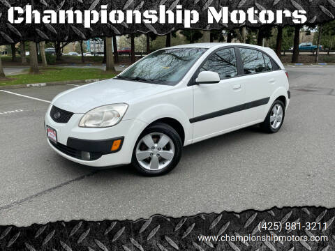 2007 Kia Rio5 for sale at Championship Motors in Redmond WA