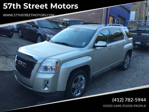 2013 GMC Terrain for sale at 57th Street Motors in Pittsburgh PA