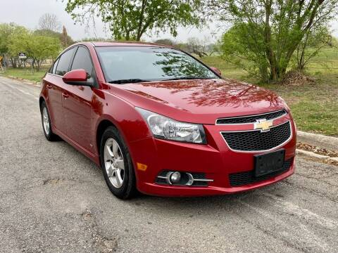 2014 Chevrolet Cruze for sale at Texas Auto Trade Center in San Antonio TX