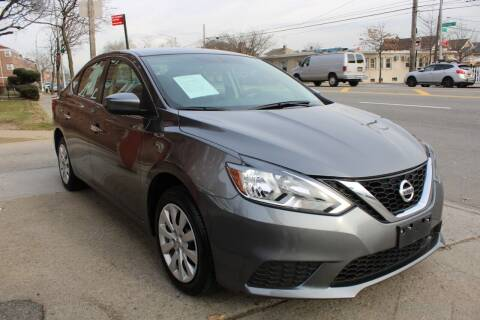 2019 Nissan Sentra for sale at LIBERTY AUTOLAND INC - LIBERTY AUTOLAND II INC in Queens Villiage NY