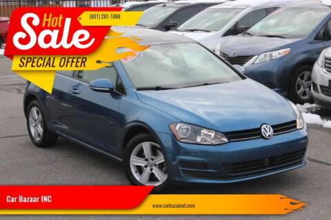 2017 Volkswagen Golf for sale at Car Bazaar INC in Salt Lake City UT