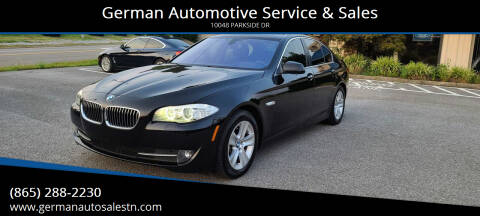 2013 BMW 5 Series for sale at German Automotive Service & Sales in Knoxville TN