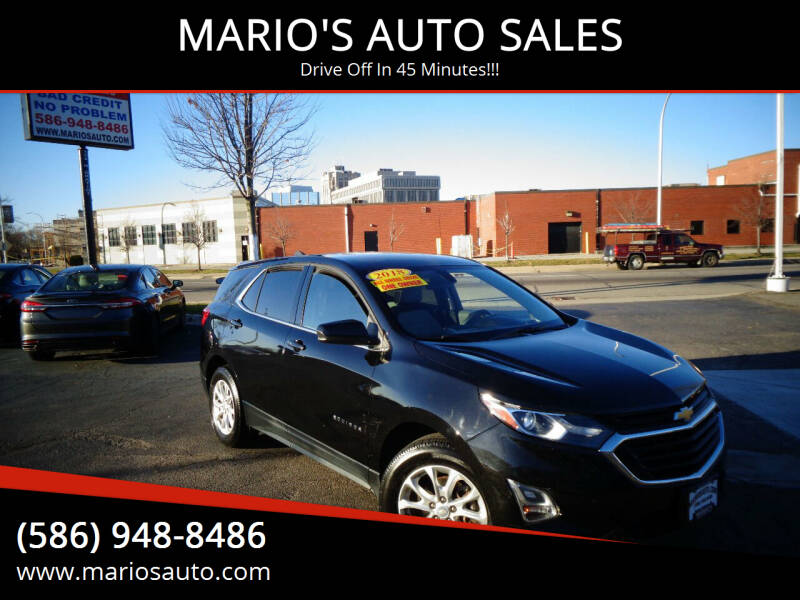 2018 Chevrolet Equinox for sale at MARIO'S AUTO SALES in Mount Clemens MI