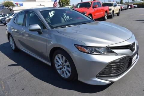 2019 Toyota Camry for sale at DIAMOND VALLEY HONDA in Hemet CA