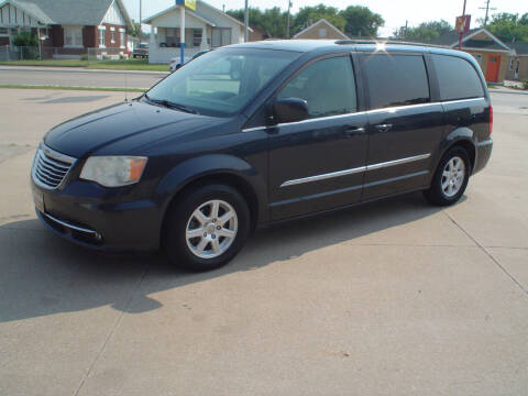 2013 Chrysler Town and Country for sale at World of Wheels Autoplex in Hays KS