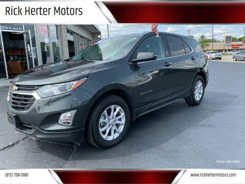2018 Chevrolet Equinox for sale at Rick Herter Motors in Loves Park IL
