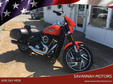 2020 Harley Davidson Sport Glide for sale at Savannah Motors in Cahokia IL