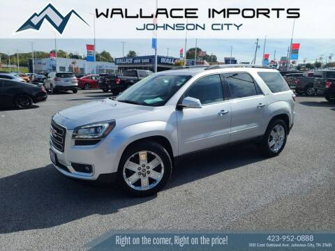 2017 GMC Acadia Limited for sale at WALLACE IMPORTS OF JOHNSON CITY in Johnson City TN