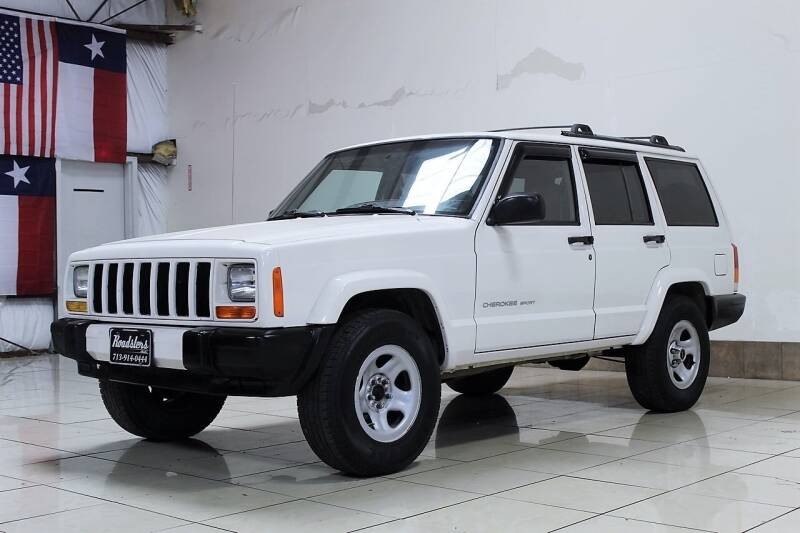 1999 Jeep Cherokee for sale at ROADSTERS AUTO in Houston TX