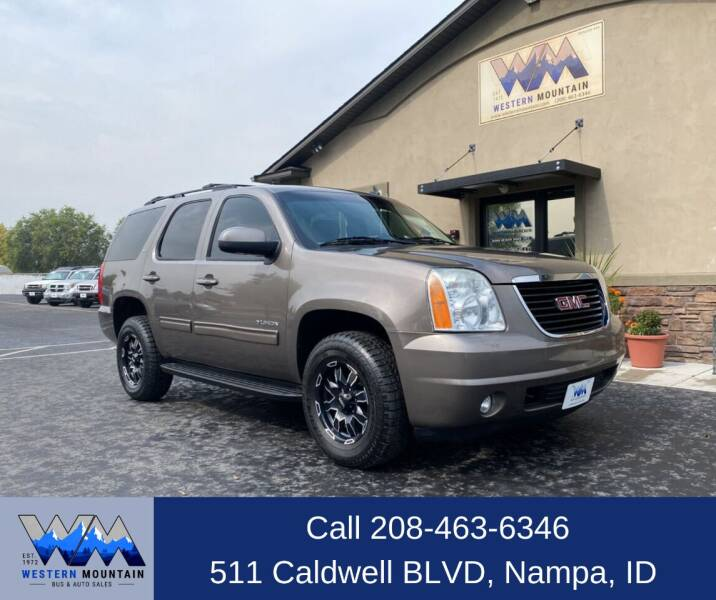 2011 GMC Yukon for sale at Western Mountain Bus & Auto Sales in Nampa ID