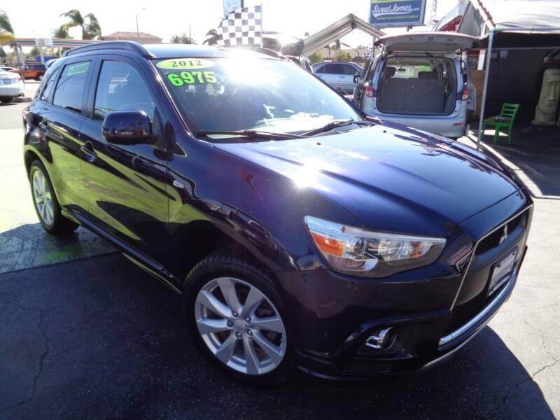 2012 Mitsubishi Outlander Sport for sale at Pauls Auto in Whittier CA