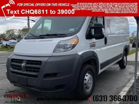 2017 RAM ProMaster Cargo for sale at CERTIFIED HEADQUARTERS in St James NY