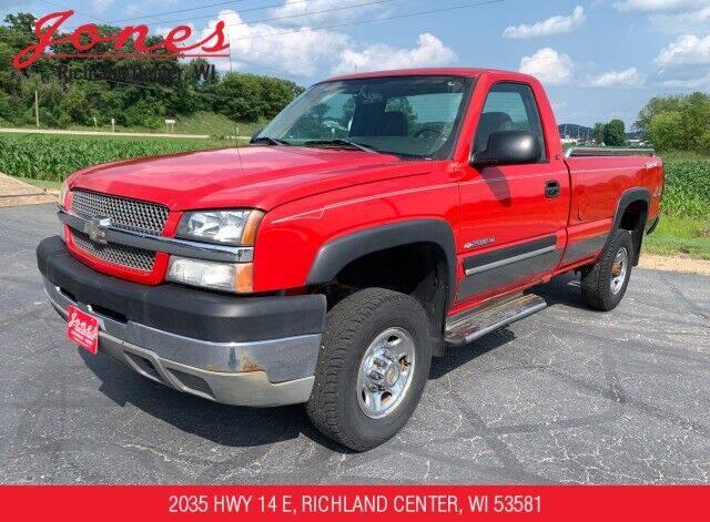 2004 Chevrolet Silverado 2500HD for sale at Jones Chevrolet Buick Cadillac in Richland Center WI