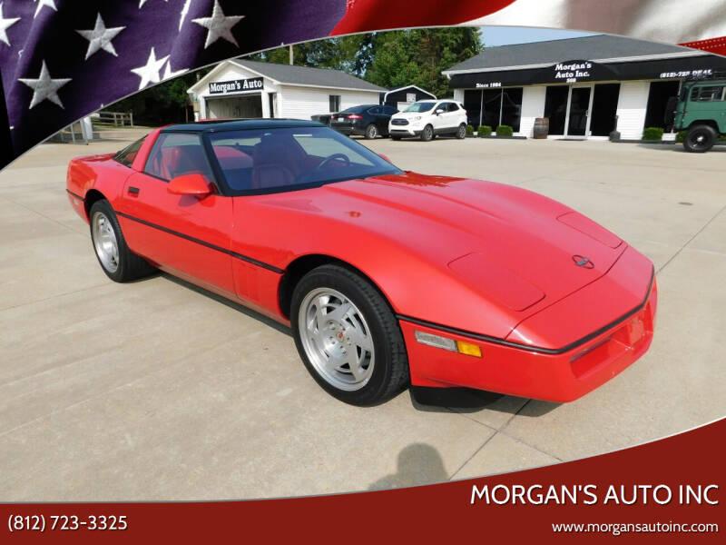 1990 Chevrolet Corvette for sale at Morgan's Auto Inc in Paoli IN