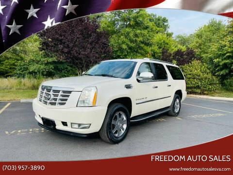 2007 Cadillac Escalade ESV for sale at Freedom Auto Sales in Chantilly VA