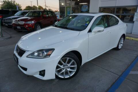 2012 Lexus IS 350 for sale at Industry Motors in Sacramento CA