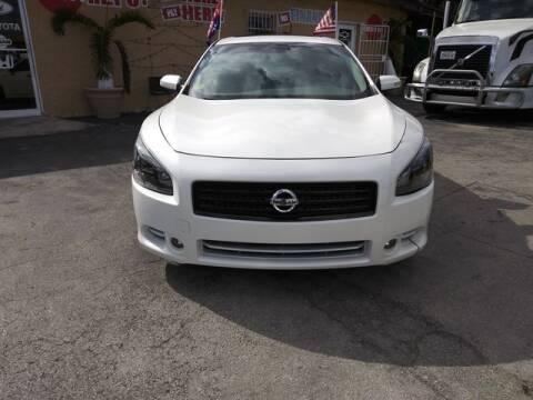 2009 Nissan Maxima for sale at VALDO AUTO SALES in Miami FL