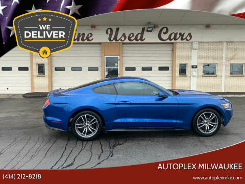 2017 Ford Mustang for sale at Autoplex Milwaukee in Milwaukee WI