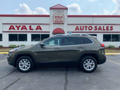 2015 Jeep Cherokee for sale at Ayala Auto Sales in Aurora IL