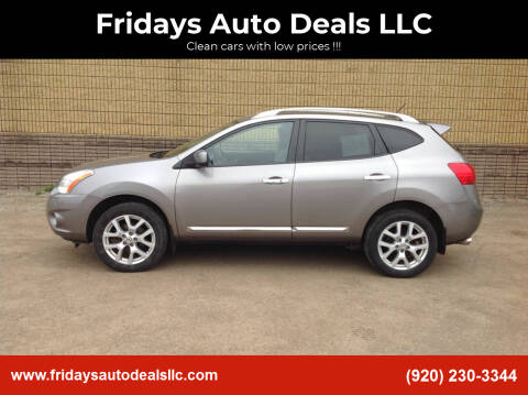 2011 Nissan Rogue for sale at Fridays Auto Deals LLC in Oshkosh WI