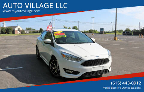 2015 Ford Focus for sale at AUTO VILLAGE LLC in Lebanon TN