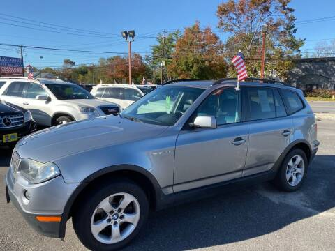 2008 BMW X3 for sale at Primary Motors Inc in Commack NY