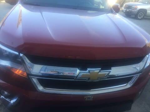 2016 Chevrolet Colorado for sale at Sorel's Garage Inc. in Brooklyn CT
