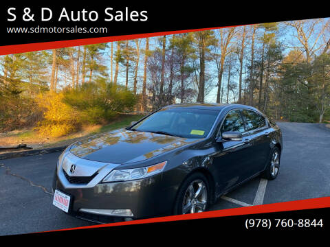 2010 Acura TL for sale at S & D Auto Sales in Maynard MA