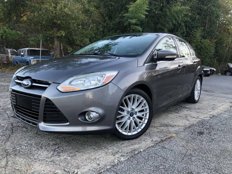 2012 Ford Focus for sale at Atlas Auto Sales in Smyrna GA