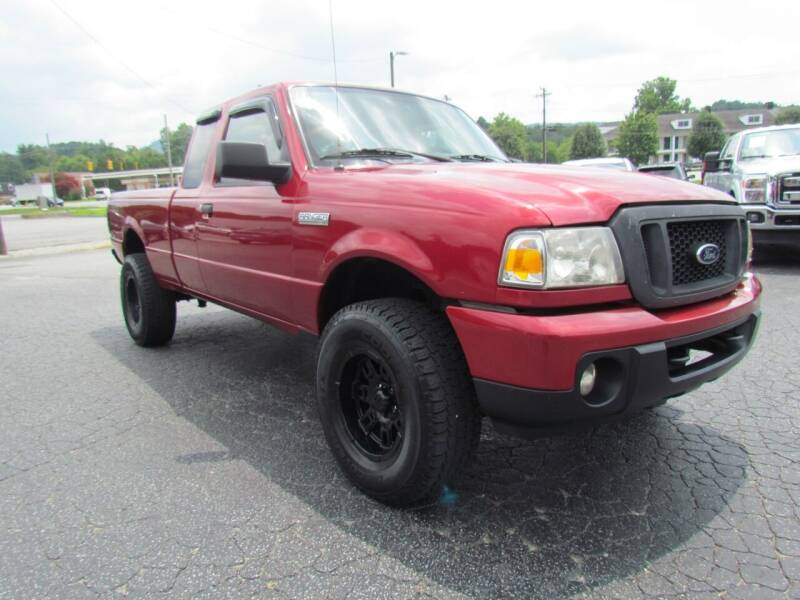2010 Ford Ranger for sale at Hibriten Auto Mart in Lenoir NC