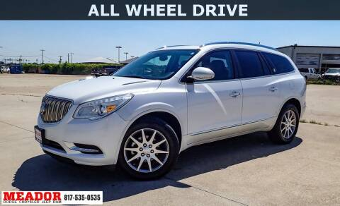 2016 Buick Enclave for sale at Meador Dodge Chrysler Jeep RAM in Fort Worth TX