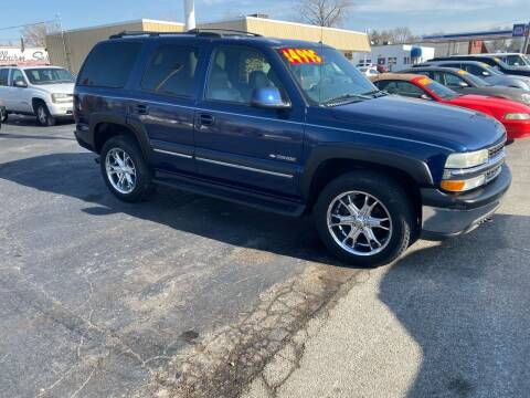 2002 Chevrolet Tahoe for sale at Walker Motors in Muncie IN