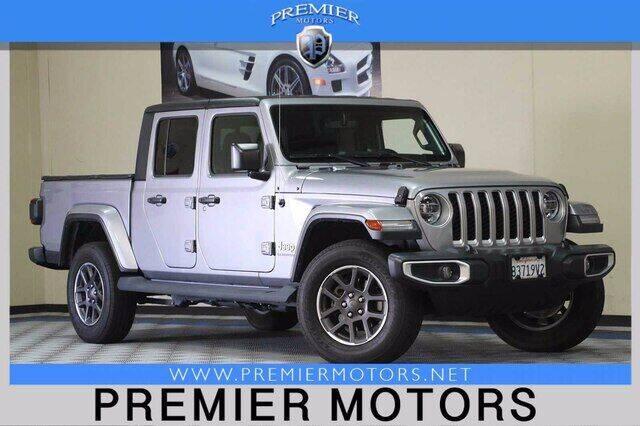 2020 Jeep Gladiator for sale at Premier Motors in Hayward CA