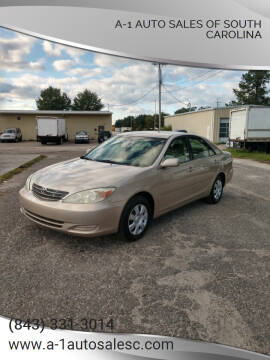 2004 Toyota Camry for sale at A-1 Auto Sales Of South Carolina in Conway SC