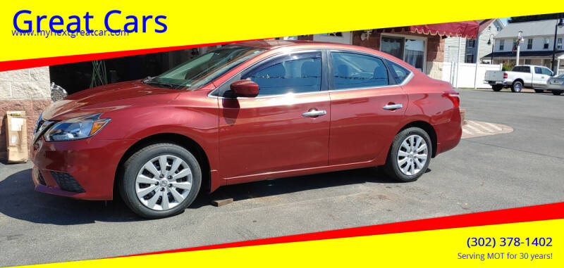 2016 Nissan Sentra for sale at Great Cars in Middletown DE
