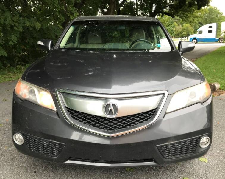 2013 Acura RDX for sale at LEB-MYER MOTORS in Lebanon PA