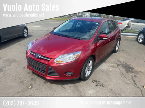 2014 Ford Focus for sale at Vuolo Auto Sales in North Haven CT